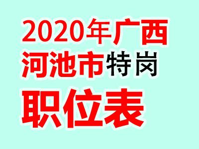 2020广西河池罗城县特岗教师招聘100人
