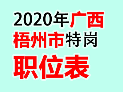 2020广西梧州岑溪市计划招聘特岗教师100人公告