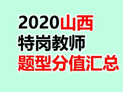 2020年山西特岗教师招聘笔试:各学科