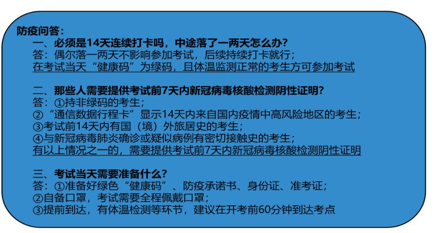 2020山西特岗教师招聘考试防疫问答
