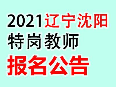 2020辽宁省沈阳市特岗教师计划招聘234人报名公告