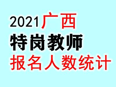 2021广西特岗教师招聘考试报名人数统计:已有17379人报名(截至6月3日