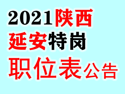 2021陕西延安市特岗教师招聘1440人职位